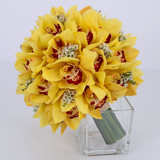 Bridal of Yellow Bouquet