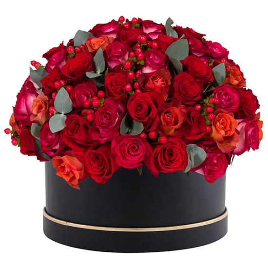 Signature Box of Red Roses