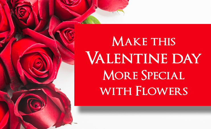 Make this Valentine day more special with Flowers