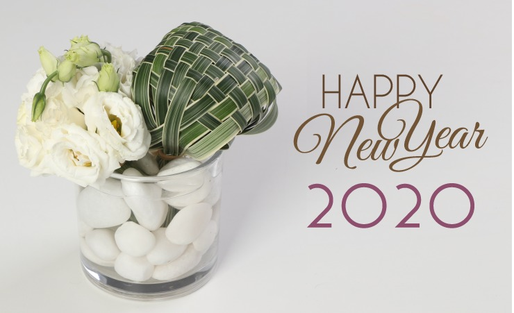 Send fresh flowers to India for new beginning '2020'