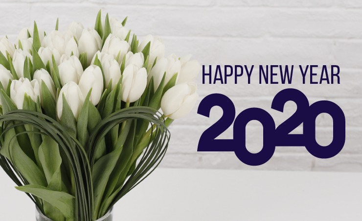 For a new beginning '2020', flowers are the best token